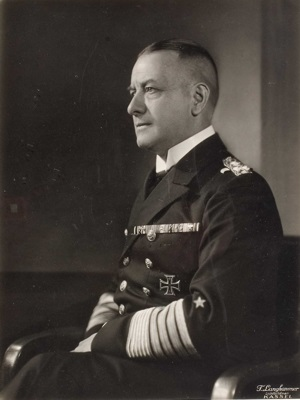 Admiral Erich Raeder commander of the Kriegsmarine